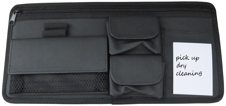 Sunglass or Eyeglass Holder Best Chess Set 810970015801 Craig Car Sun Visor Organizer Valet Caddy Notepad Wallet Map Compartment
