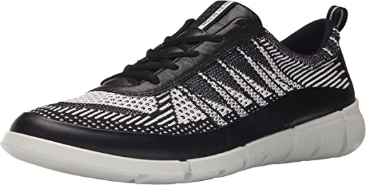 Details about New ECCO Men's Intrinsic TR Black Sneaker Sz 44