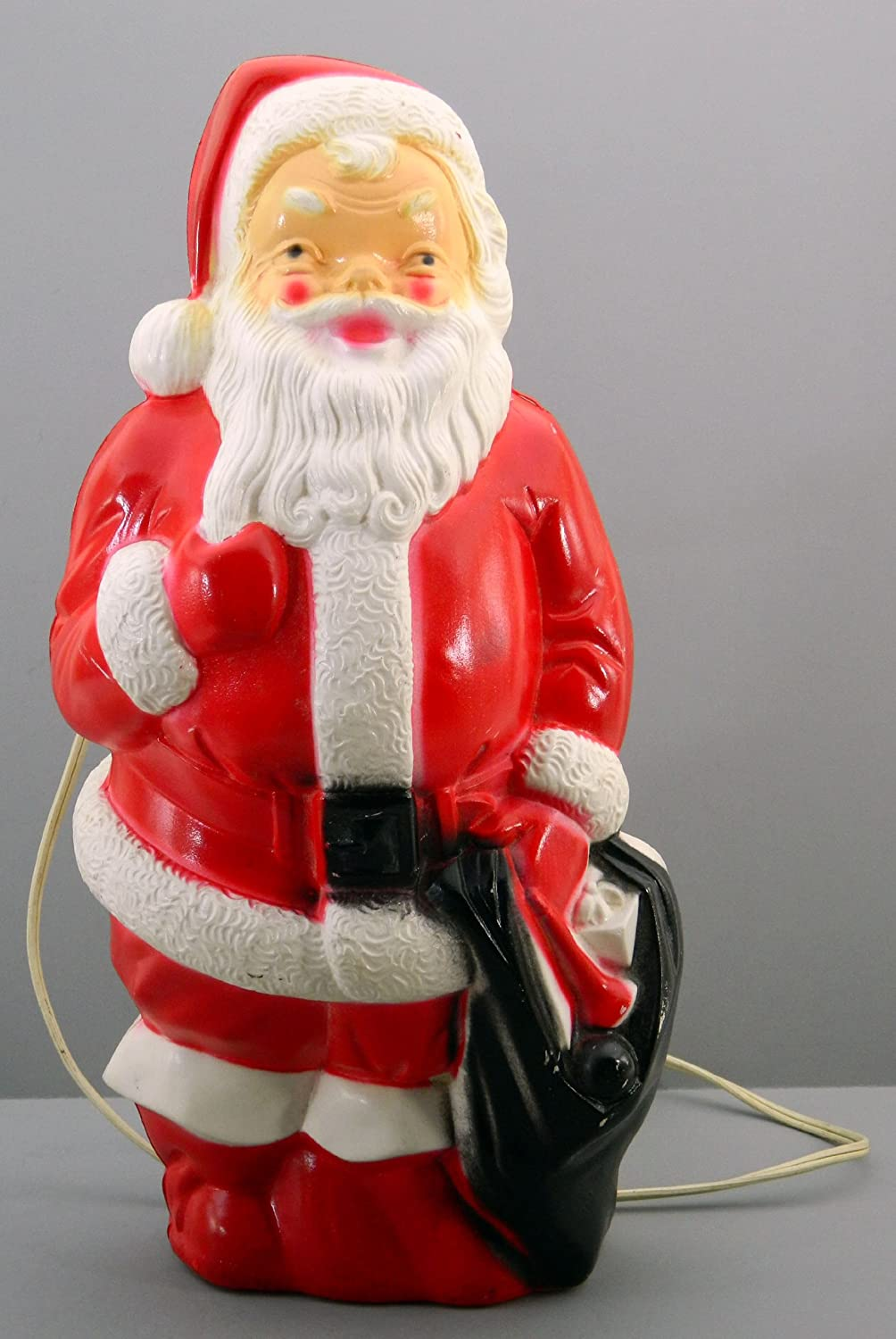 amazoncom light up santa claus empire 1968 blow mold vintage christmas decoration home kitchen