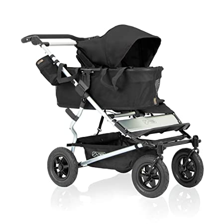Mountain Buggy Duet Single Buggy, Black