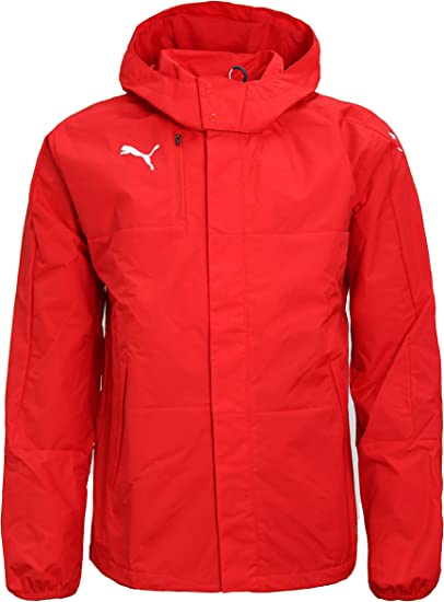Puma Homme Vestes de Sport Mens Rain Jacket Veloce Windbreaker Hooded Raincoat Sports Jacket 654640