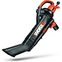 Worx WG509 12-Amp All-in-one Electric TriVac Blower - Manufacturer Refurbished