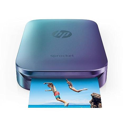 HP - Impresora fotográfica (Zink (Sin Tinta), 313 x 400 dpi ...