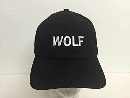 5173eed8d148 Image Unavailable. Image not available for. Color  Wolf Odd future Gang  Tyler The Creator Unstructured Adjustable Hat