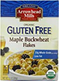 Arrowhead Mills Organic Gluten-Free Cereal, Maple Buckwheat Flakes, 10 oz. (Pack of 6)