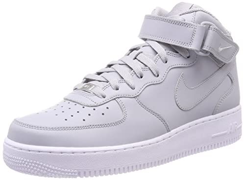 half off 9fa09 18a29 Nike Air Force 1 Mid 07 Le, Sneaker a Collo Alto Uomo, Grigio