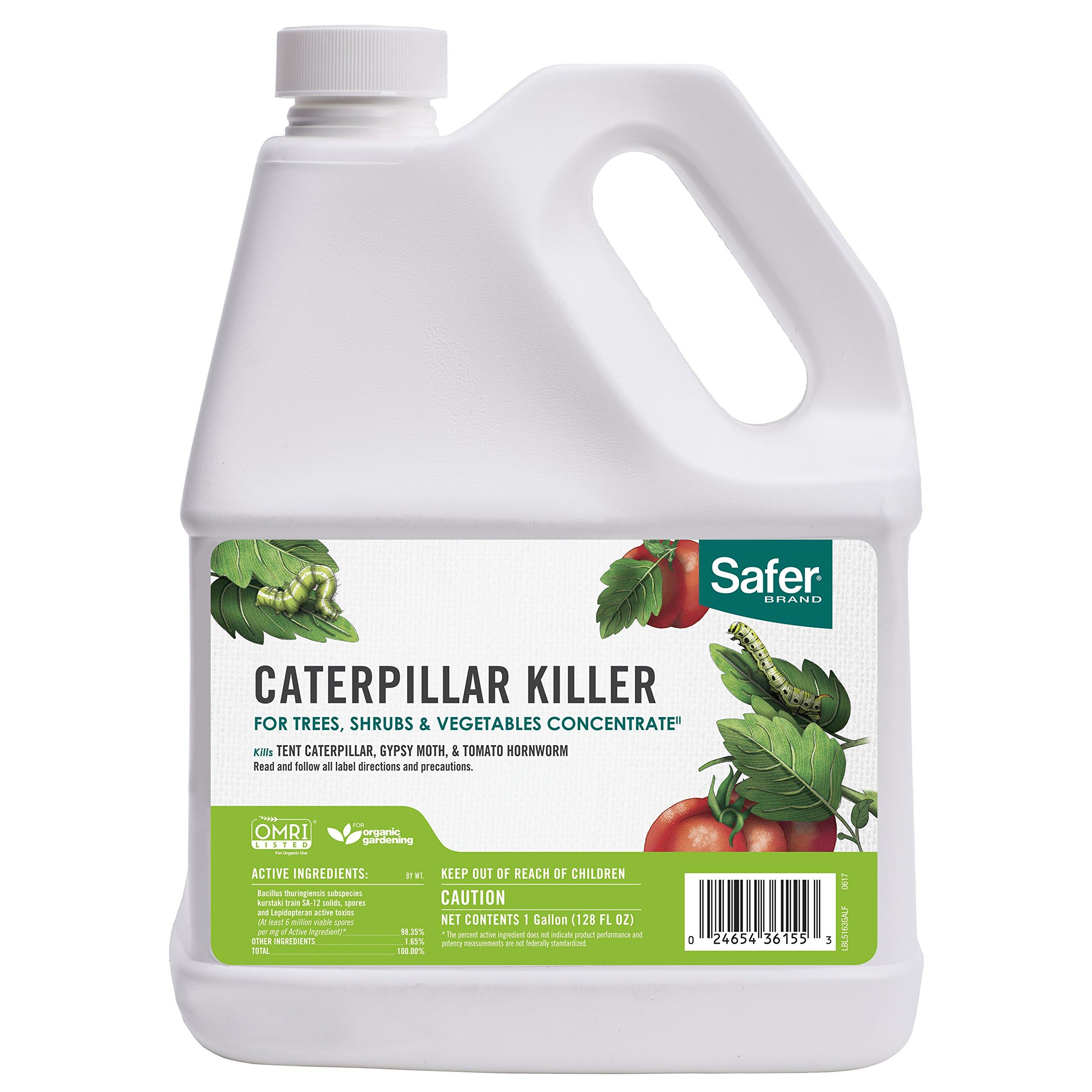 Safer Brand Caterpillar Killer Concentrate 1gal - 4 pack 5160GAL