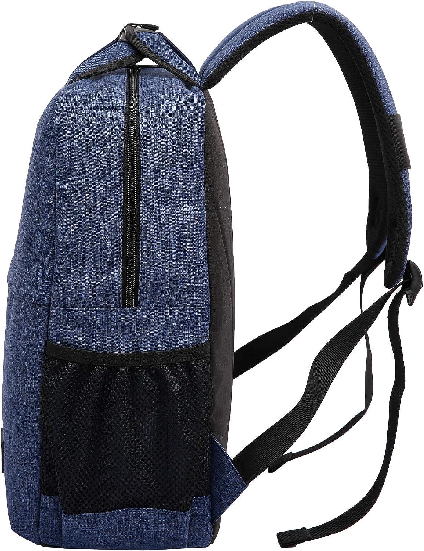 Black Kailinsheng Professional Camera Backpack DSLR Lightweight Travel Bag Adjustable Shoulder Straps