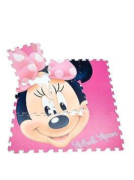 Jeu Tapis Puzzle En Eva 9 Pieces Minnie 90 X 90 Amazon Fr Cuisine