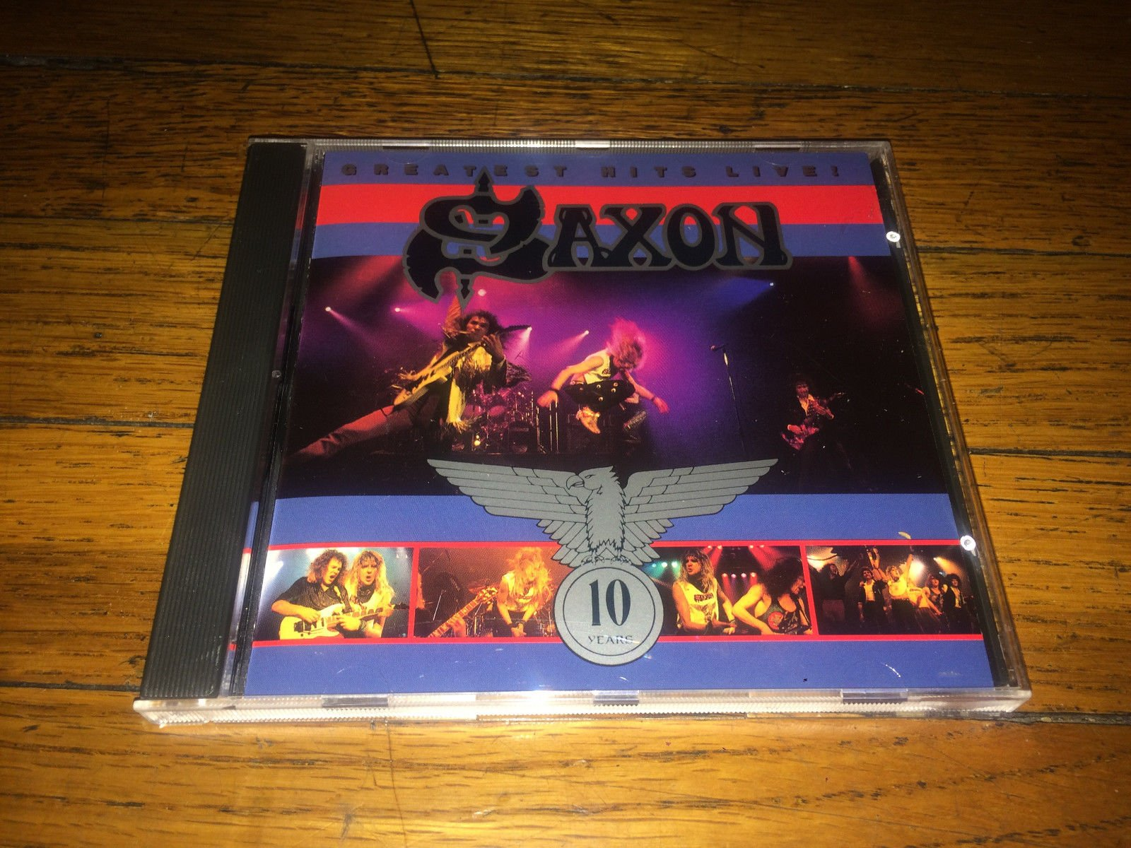 Saxon - Greatest Hits: Live! by Red Distribution, in