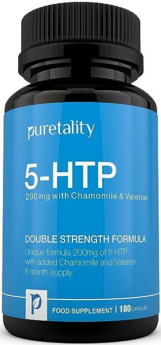 19 opinioni per Puretality 5-HTP 200mg, 180 capsule