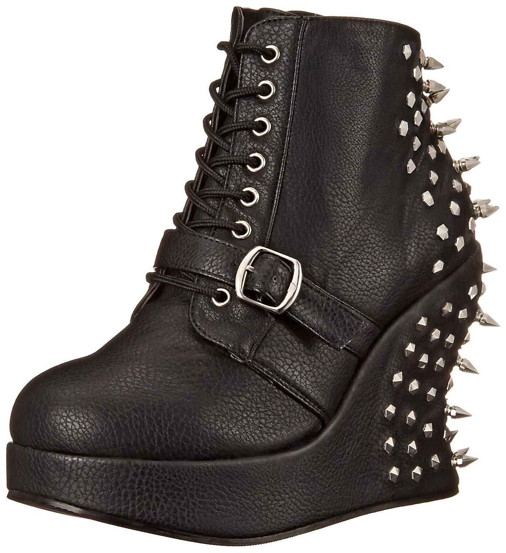 Demonia Women's BRA23/BPU Boot B00GTIHCUS 6 B(M) US|Black Polyurethane