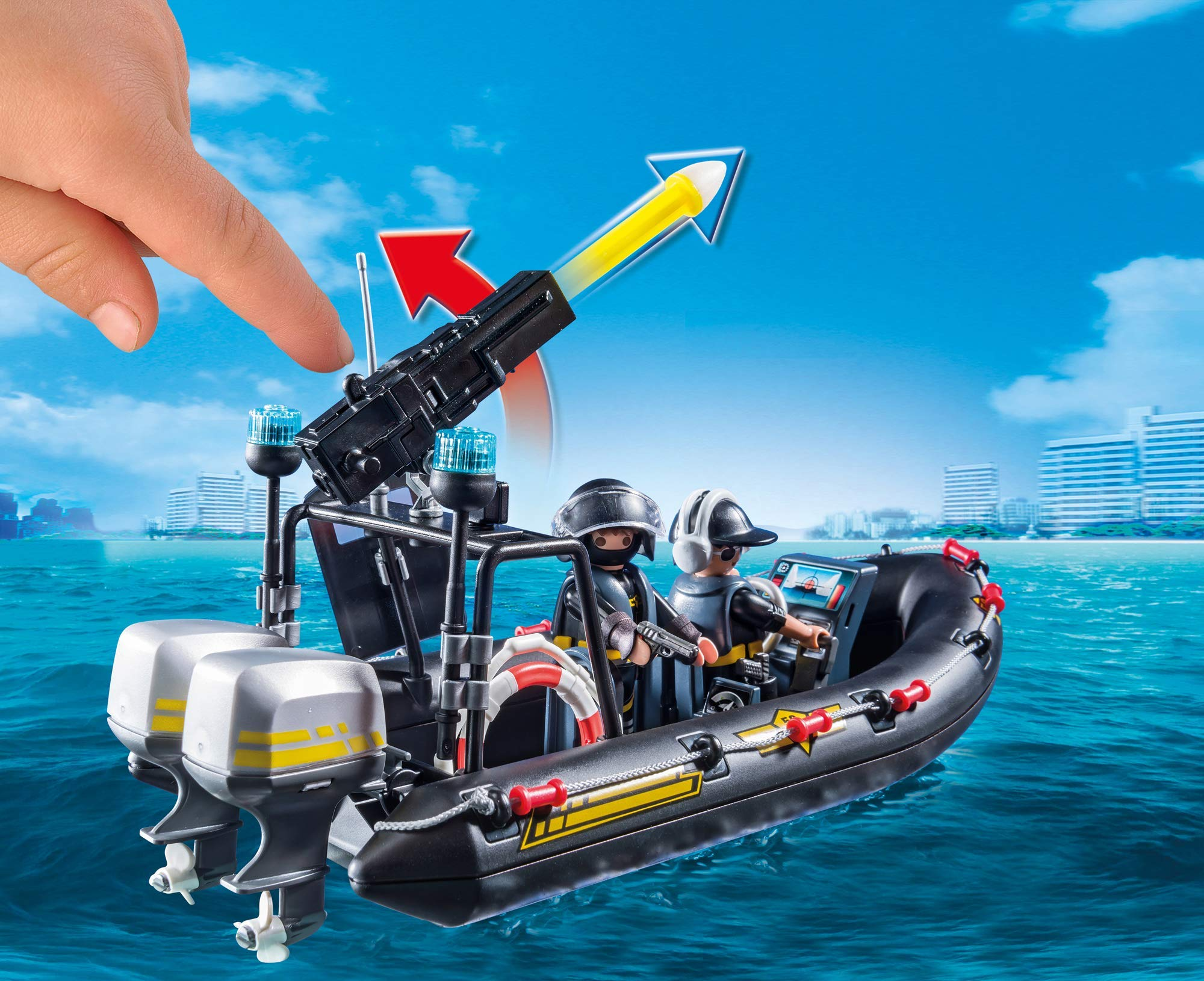PLAYMOBIL® Tactical Unit Boat by PLAYMOBIL® (Image #5)