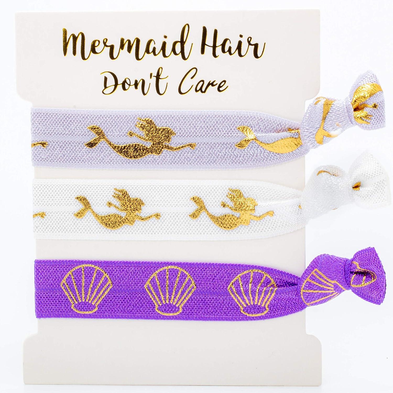 Mermaid Party Favors for Kids Birthday Mermaid Hair Ties