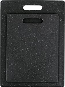 Dexas 45150-2PKT Pastry Superboard Cutting Board, Set of Two, Midnight Granite Color