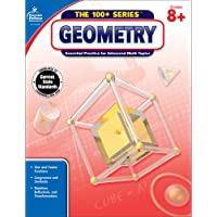 Carson Dellosa | Geometry Workbook | 8th–10th Grade, 128pgs (The 100+ Series™)