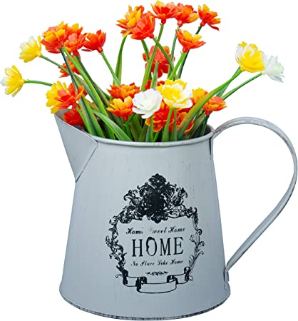 Vaso Fiori.Vaso Fiori In Metallo 13cm Mini Vaso Brocca Stile Francese