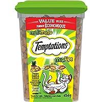 TEMPTATIONS Cat Treats, Mix-Ups Catnip (Chicken, Catnip & Cheddar Flavour), 454g Tub