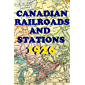 CANADIAN RAILROADS AND STATIONS: 1926