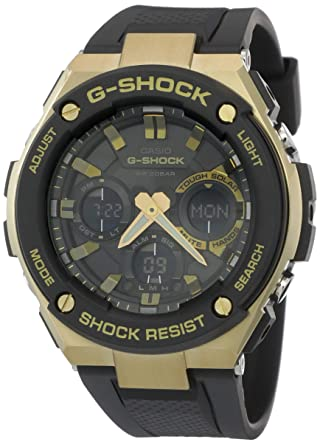 Amazon Com Casio G Shock G Steel Series Solar Powered World Time