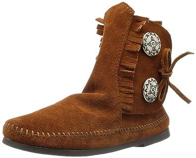 Minnetonka Damen Two Button 442 Mokassin Stiefel  Amazon.de  Schuhe ... a84a52fd8c