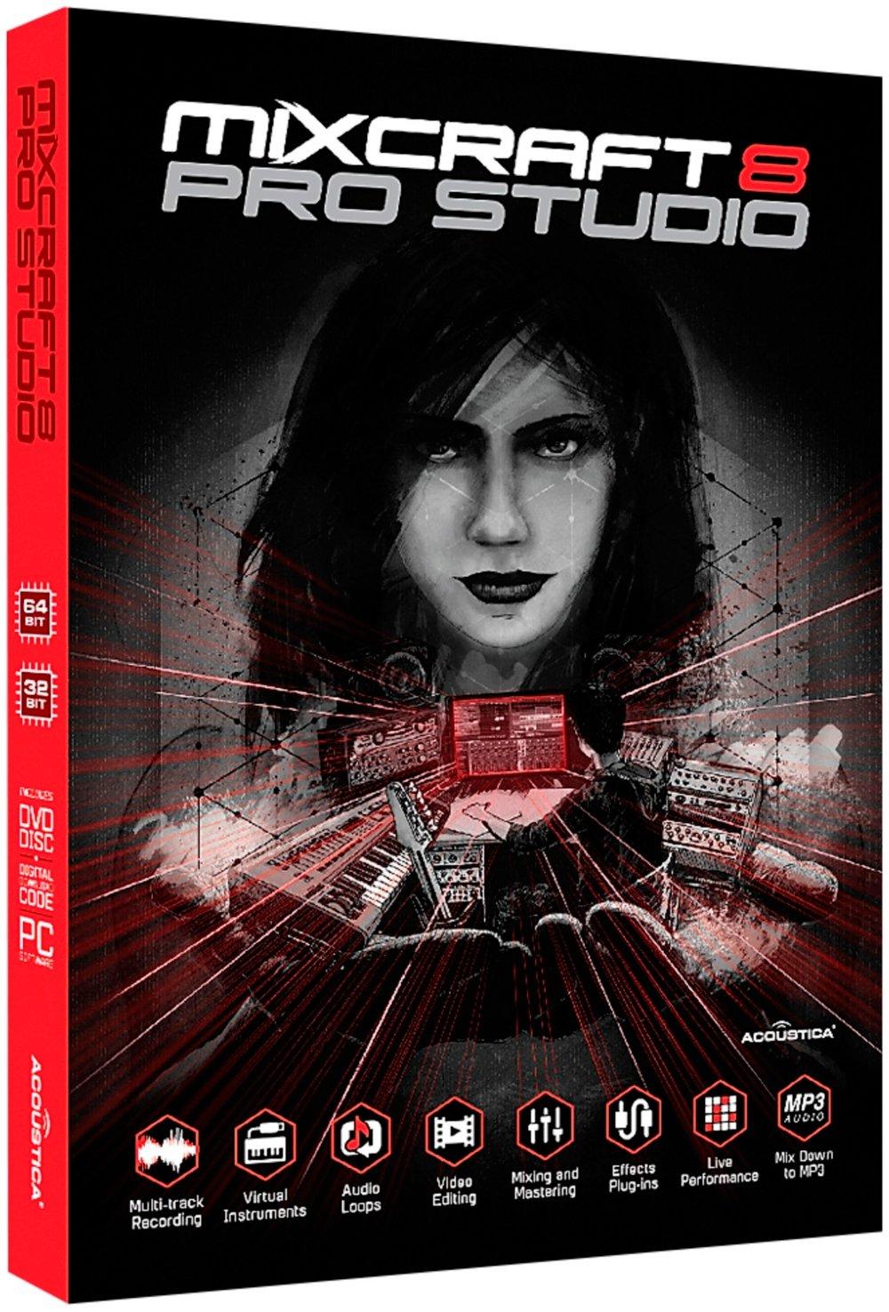 Acoustica Mixcraft 8 Pro Studio Academic Edition - Box by Acoustica