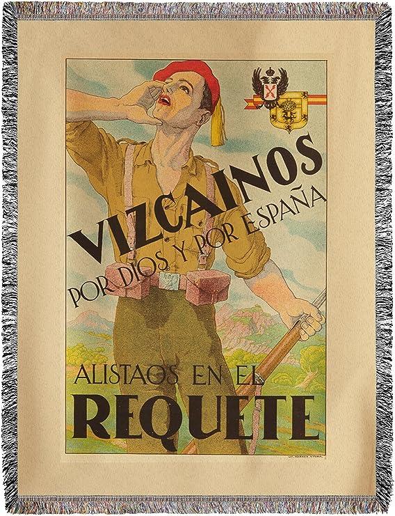 Vizcainos – Requete Vintage Póster de España C. 1936 (60 x 80 ...