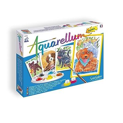 "Sentosphère 3900698 ""Aquarellum Junior Dogs Painting Set: Toys & Games"
