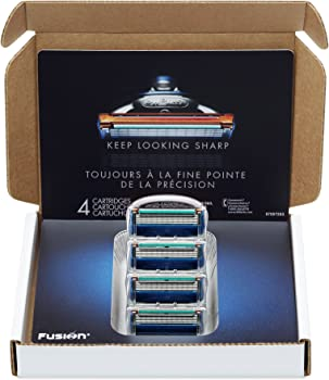 4 Count Gillette Fusion Manual Razor Blade Refills