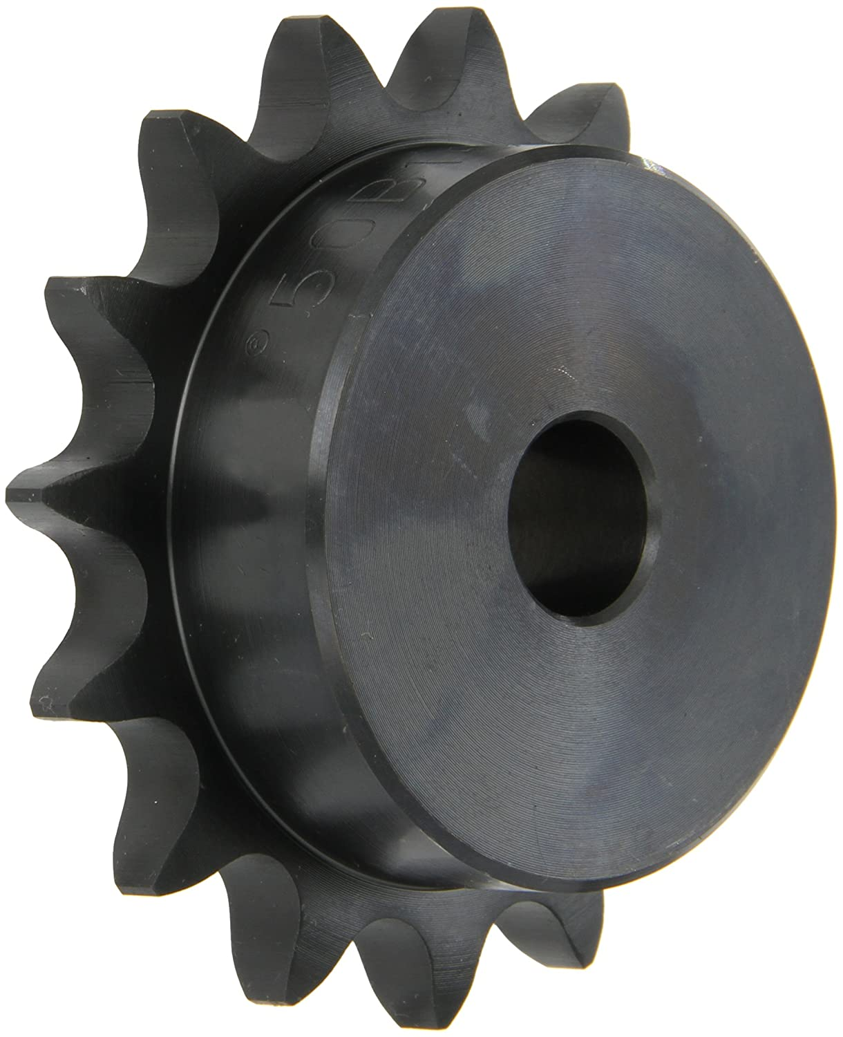 Browning 50B15 Minimum Bore Roller Chain Sprocket, Single Strand, Steel, 5/8' Stocked Bore, 15 Teeth 5/8 Stocked Bore Emerson