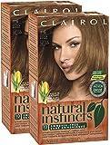 Clairol Natural Instincts, 011G, Amber Shimmer, Lightest Golden Brown, 2 pk