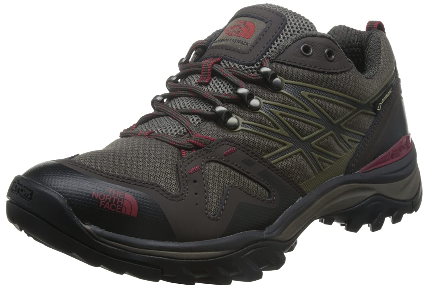 The North Face Men's Hedgehog Fastpack Gtx B00LMWBDBA 10|Coffee Brown & Rosewood Red