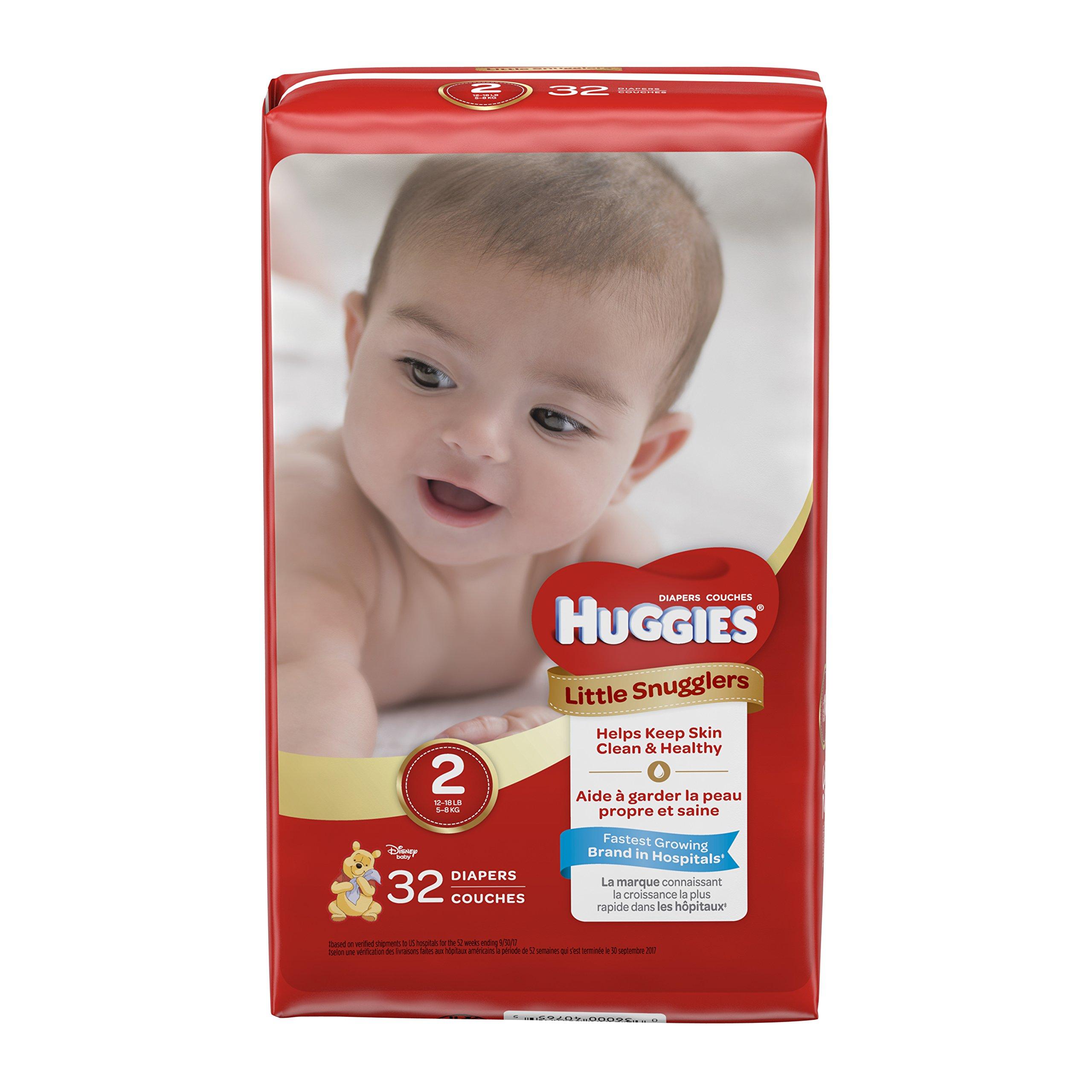 Huggies Little Snugglers Baby Diapers by HUGGIES