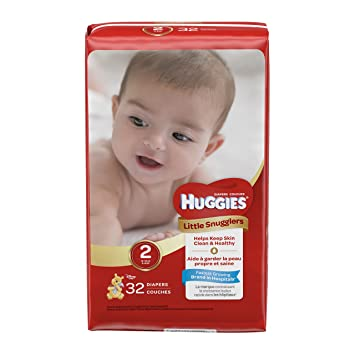 f85356cc00cc Amazon.com  Huggies Little Snugglers Baby Diapers  Health   Personal ...