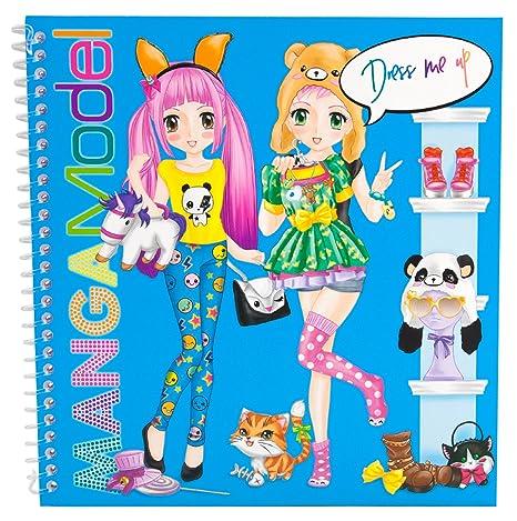 livre manga model