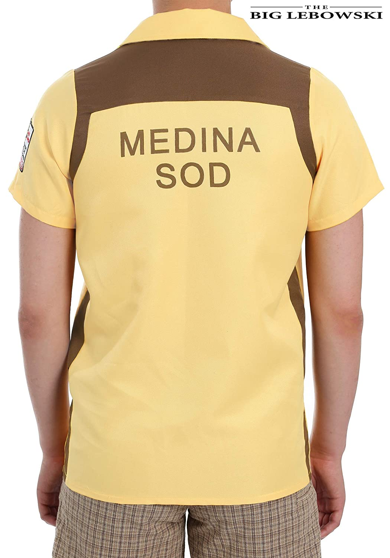602e6eeb5 Amazon.com: The Big Lebowski Medina Sod Plus Size Bowling Shirt Costume:  Clothing