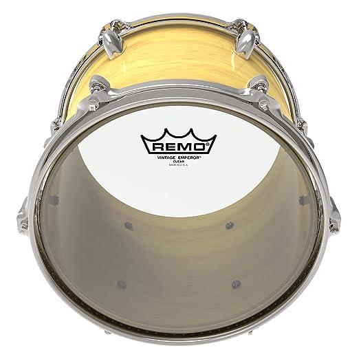 Remo BA021500 Clear Vintage Emperor Drum Heads 2-Plies of 7.5 Millimeters Mylar Films