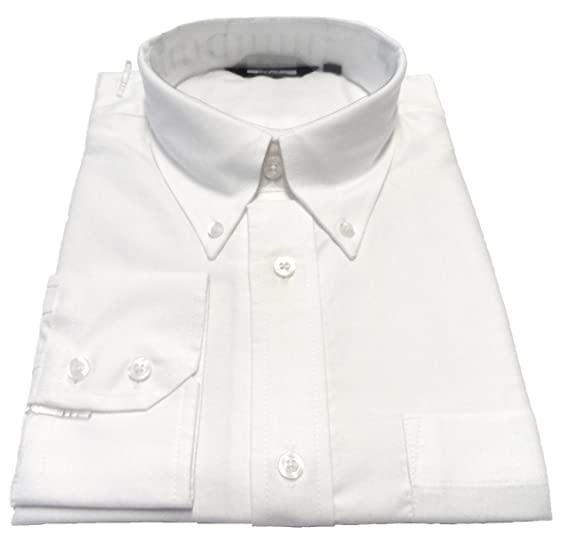 bfd251b1 Relco White Oxford Long Sleeved Vintage/Retro Mod Button Down Shirts:  Amazon.co.uk: Clothing
