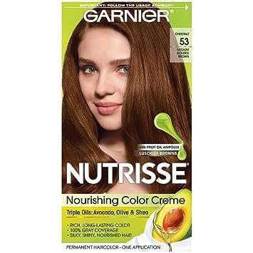 Amazon Com Garnier Nutrisse Nourishing Hair Color Creme 53 Medium