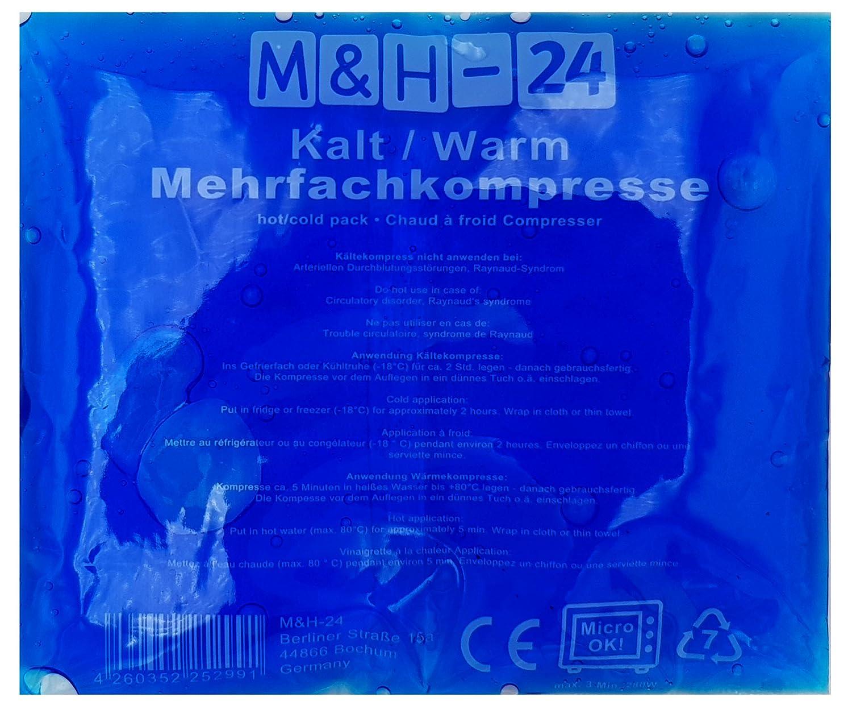 M & H de 24 múltiples de compresas compresa fría/caliente - 13 x ...