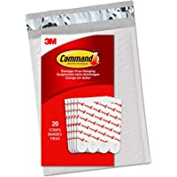 Command Large Refill Strips, White, 20-Strips, (GP023-20NA) - Easy to Open Packaging