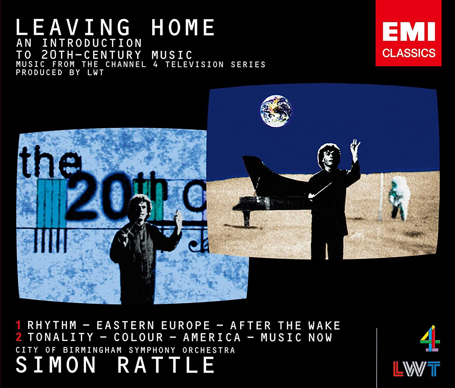 Rattle & City Of Birmingham Symphony Orchestra - Leaving Home - Orchestral Music In The Twentieth Century [Japan LTD HQCD] TOCE-90162
