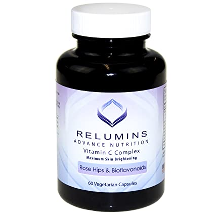 Relumins avanzar vitamina C - complejo con rosa mosqueta y Bioflavinoids - 60 cápsulas (suministro
