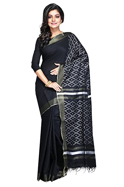 723bde513ada28 swatika Women s Cotton Silk Saree with Blouse Piece (LS18JY04 ...