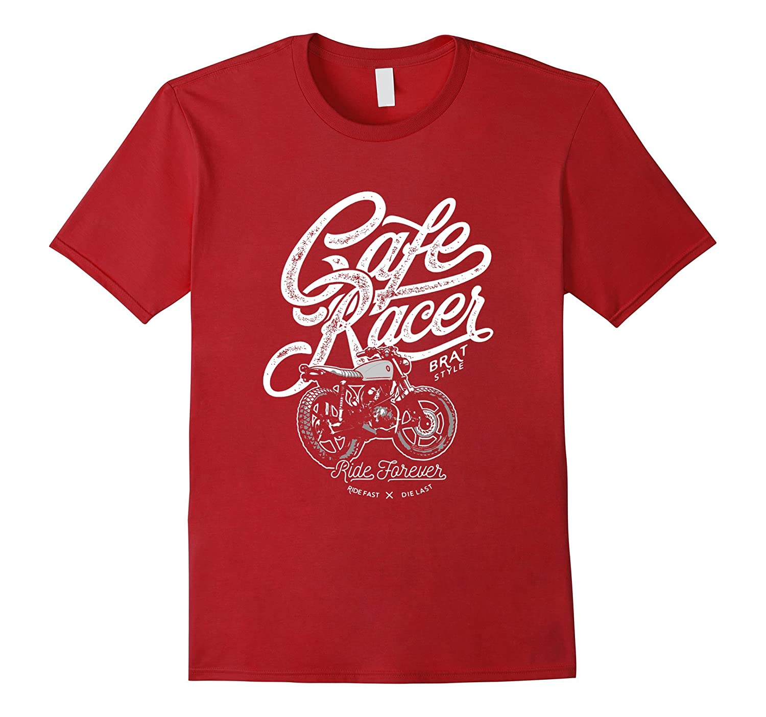 Cafe Racer, Ride Forever, Brat Style,-TH