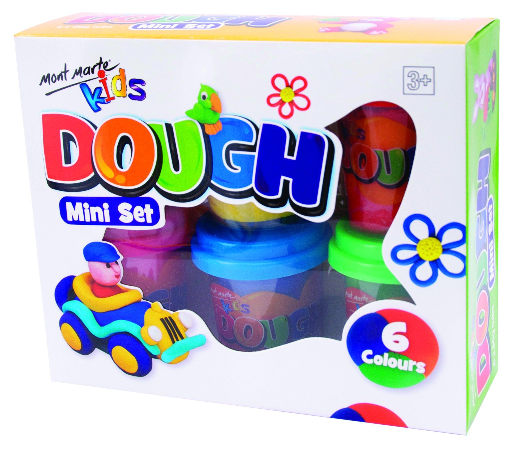 Mont Marte Kids Dough 6pce x 60g