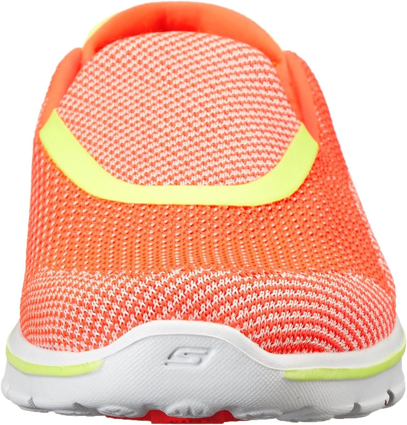 Skechers Performance Women's Go Walk 3 Slip-On Walking Shoe Hot Pink/Lime Nite Owl