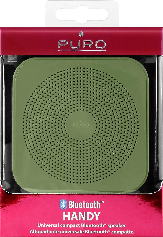 Puro BTSP03DKGRN Casse Altoparlante Handy Esterno Bluetooth V 4.2 ... 30cbeafb37db4