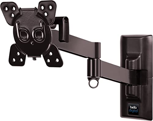 Bell O Digital 7467B Articulating Full Motion TV Wall Mount for TVs up to 37 with 16.1 Extension
