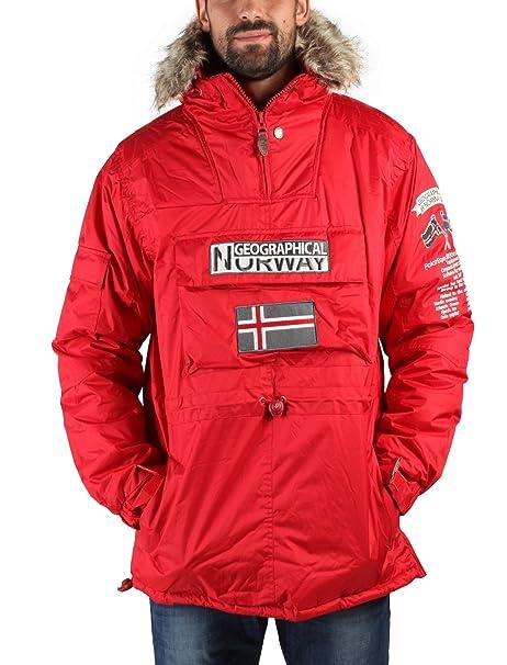 GEOGRAPHICAL NORWAY chaqueta hombre Building rojo - hombre - XXL: Amazon.es: Ropa y accesorios